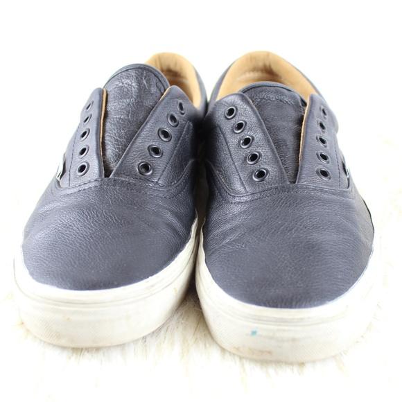 d501a895ac9ef2 Vans Era Men Shoes Lux Leather Black Porcini 11. M 5c0999d95c445251af00d696